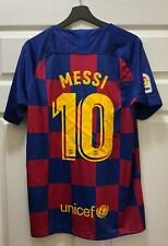 Lionel Messi #10 Barcelona Soccer NIKE Jersey Size XL NEW w/ Tags