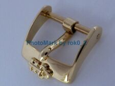 CORUM 18K SOLID 18ct YELLOW GOLD 14mm TANG PIN BUCKLE CLASP VERY NICE, RAREST!!!