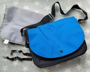 Mothercare Journey Nappy Bag in Royal Blue with Changing Mat