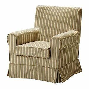 ' New Original IKEA cover set for Ektorp JENNYLUND armchair in LINGHEM striped