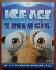 Ice Age Trilogía [Blu-Ray Región B] Castellano, Catalán ¡¡NUEVO A ESTRENAR!!