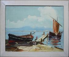Peinture Marine Peinture Huile A Salomon Salomon le Tropezien Saint Tropez