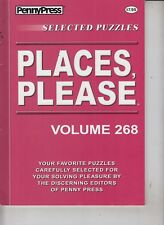 PennyPress Selected Puzzles 2016 Places, Please Volume 268