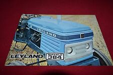 Leyland Nuffield 384 Tractor Dealers Brochure YABE11 VER90