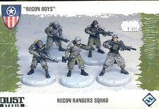 FFG DUST TACTICS ALLIES BOITE RECON RANGERS SQUAD PLASTIQUE
