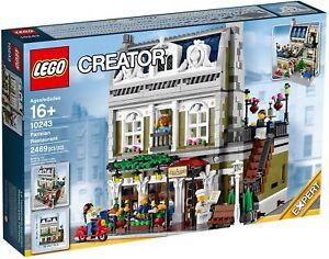 LEGO Creator Expert Parisian Restaurant 10243 (2014) Pre-Owned