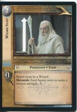 Lord Of The Rings CCG Card RotK 7.C52 Wizard Staff
