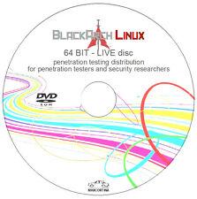 Arch Linux Negro-Disco en vivo de 64 Bits-distribución de prueba de penetración