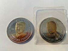 Details about  /Ronald W Reagan 1981 to 1989 collector coin in plastic case