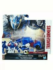 Transformers The Last Knight 1-Step Turbo Changer Cyberfire Optimus Prime