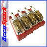 Ford Pinto Accuspark triple ground,FAST ROAD/RACE Cold Range Spark Plugs AF5C x4