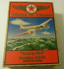 """TEXACO""""Gooney Bird"""" Douglas DC-3C WINGS OF TEXACO Die Cast Replica"""