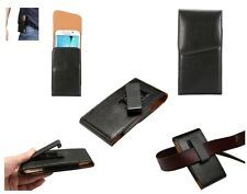 for ALCATEL POP STAR (2015) Holster Executive 360° Belt Clip Rotary Magnetic ...