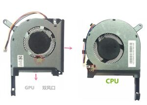 New for ASUS FA506 TUF A15 FA506IV F15 A17 FA706 CPU+GPU COOLING FAN