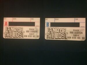 Land Of The Lost Timecode Faceplate A & B Clapperboard Slate Movie Prop Ferrell