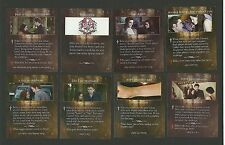 Bella's Ring Vampire Bite Kristen Stewart Robert Pattinson Twilight Fab Card LOT