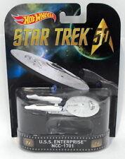 Hot Wheels 1/87 Scale Diecast DJF53 - U.S.S. Enterprise - Star Trek