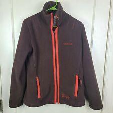 Horseware Equestrian Women's Brown Full Zip Fleece Jacket Coat Size: L