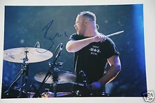 Ben Thatcher ( Drummer ) from Royal Blood 20x30cm Bild + Autogramm / Autograph .