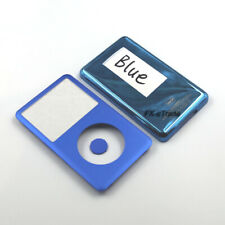 Blue Front Faceplate Back Housing Cover Center Button for iPod 7th Classic 160GB