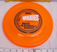 WHEATIES WHAM-O WORLD JR. FRISBEE CHAMPIONSHIP NEW IN THE PACKAGE 1982