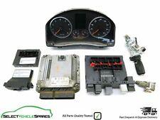 VW TIGUAN MK1 5N 1.4 TSI 150 BWK ENGINE ECU LOCK SET KIT SPEEDO KEY 2008-2009