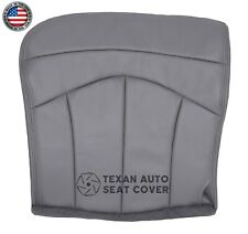 2001 Ford F150 Lariat Single Cab Driver Bottom Synthetic Leather Seat Cover Gray