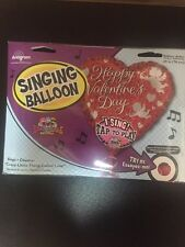 """Happy Valentine's Day 29"""" Singing Balloon, Sings """"Crazy Little Thing Called Love"""