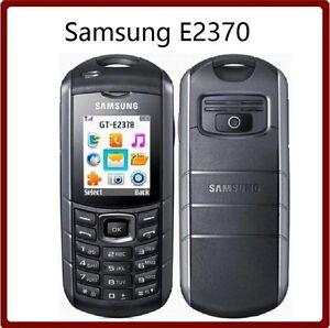 """Original Unlocked Samsung E2370 Xcover mobile phone Flashlight 1.77"""""""