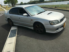 subaru legacy b4 be5 bh5 twin turbo silver breaking for parts wheel nuts m56
