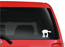 Star Wars Imperial AT AT AT-AT Walker Logo WHITE cut vinyl sticker decal