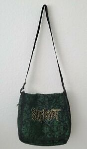 SLIPKNOT GREEN MESSENGER BAG (2007)