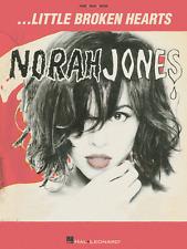 NORAH JONES-LITTLE BROKEN HEARTS-PIANO/VOCAL/GUITAR MUSIC BOOK BRAND NEW ON SALE