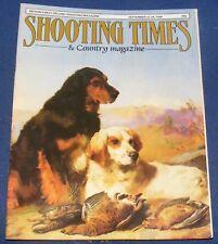 SHOOTING TIMES MAGAZINE SEPTEMBER 22-29 1988