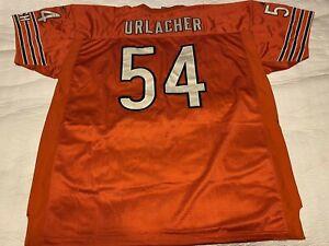 Reebok NFL Equipment Orange Brian Urlacher # 54 Size 58 HULK size jersey
