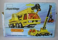 Repro Box Matchbox SuperKings K-12 Hercules Mobile Crane