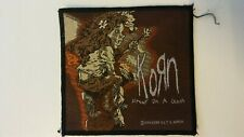 USED Korn Freak on A Leash 1999 logo music patch Sew On rock metal USED