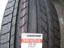 2 New 245/30ZR20 Inch Nankang NS-20 Tires 245 30 20 2453020 R20