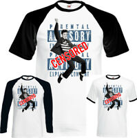 Elvis Presley Censurado Hombre Divertido Música Camiseta Rock N Roll
