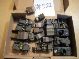 #522 1:72 fertig bemalte Bausätze WKII 16x Fahrzeuge US Spähtrupp Kompanie Lot