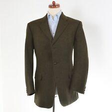 Sir Anthony TWEED Sakko Jacket Gr 52 100% Wolle Wool CLASSIC HERBST Green Grün