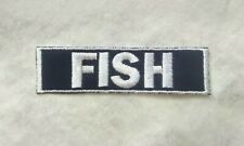 Custom NAVY Personalised Name Embroidery Sew on Multipurpose Embroidered Patch