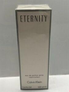 Eternity by Calvin Klein 3.4 oz/100 ml Eau de Parfum Spray Women, Sealed
