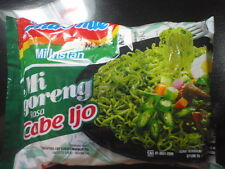 24 pcs Indomie noodle Mi Goreng Cabe Ijo Green Chilli Taste. Free Shipping