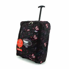 Lightweight Cabin Luggage Travel Wheelie Bag Suitcase Trolley Case 50x40x20