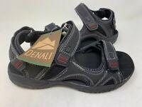 NEW! Denali Men's Rapid River Fisherman Sandals Black 185M z