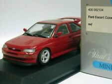 WOW EXTREMELY RARE Ford Escort RS Cosworth TRB 225HP 1992 Red 1:43 Minichamps