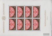 Liechtenstein 634Klb Kleinbogen (kompl.Ausg.) gestempelt 1975 Schatzkammer