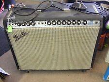 vintge 1973 fender twin reverb amp works good