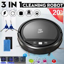 Rumba Rechargeable Smart Robot Vacuum Cordless 3-in-1 Dry/Wet Floor Mop Cleaner